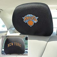 New York Knicks 2 pc Head Rest Covers