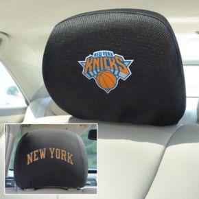 New York Knicks 2-pc. Head Rest Covers