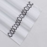 Embroidered 300-Thread Count Egyptian Cotton Percale Deep-Pocket Sheets