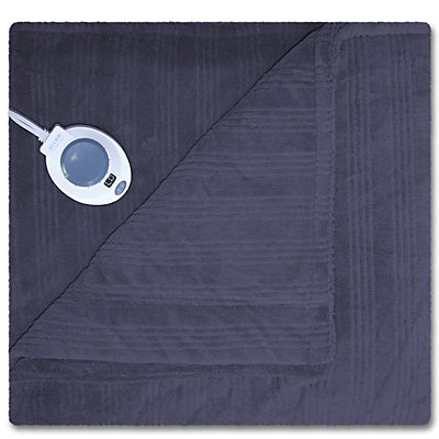 Soft Heat Plush Triple Rib Warming Blanket