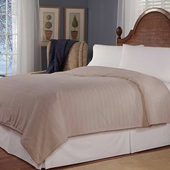 Soft Heat Plush Triple Rib Electric Blanket