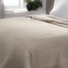 Serta Luxe Plush Electric Blanket