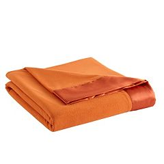 Micro Flannel® All Seasons Year Round Satin Hemmed Sheet Blanket