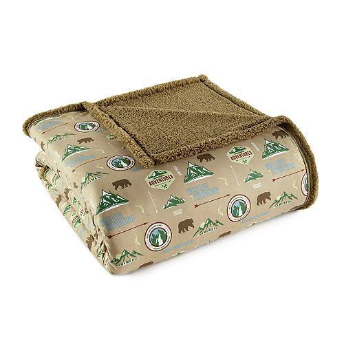 Micro Flannel Sherpa Blanket