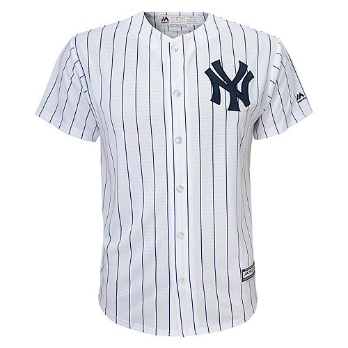 dbef6689 Boys 8-20 Majestic New York Yankees Replica MLB Jersey