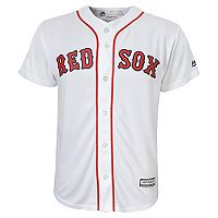 Boys 8-20 Majestic Boston Red Sox Replica MLB Jersey
