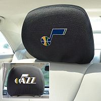 Utah Jazz 2-pc. Head Rest Covers