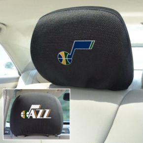 Utah Jazz 2-pc. Head Rest Covers