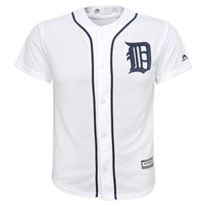 Boys 8-20 Majestic Detroit Tigers Replica MLB Jersey