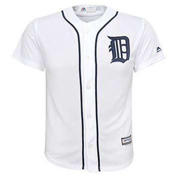 Boys 8-20 Majestic Detroit Tigers Replica MLB Jersey