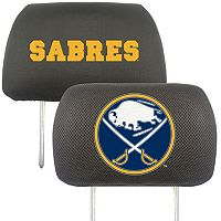 Buffalo Sabres 2 pc Head Rest Covers