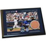 """Steiner Sports New York Yankees Derek Jeter Moments First Career Grand Slam 5"""" x 7"""" Plaque with Authentic Field Dirt"""