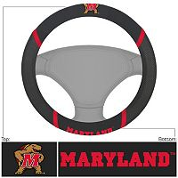 Maryland Terrapins Steering Wheel Cover