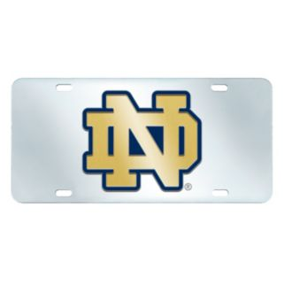 Notre Dame Fighting Irish Mirror-Style License Plate