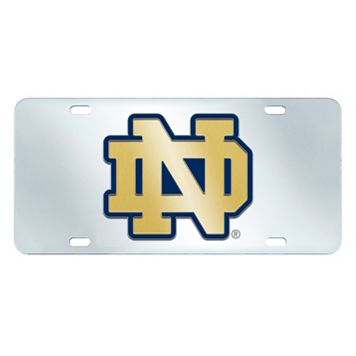 Notre Dame Fighting Irish Mirror-Style License Plate