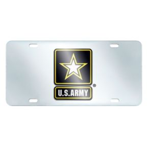 United States Army Mirror-Style License Plate