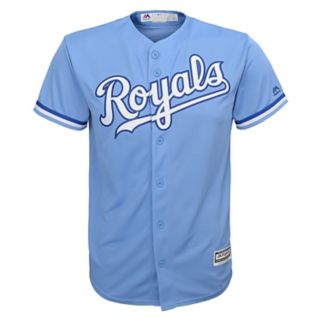Majestic Kansas City Royals Replica MLB Jersey - Boys 8-20