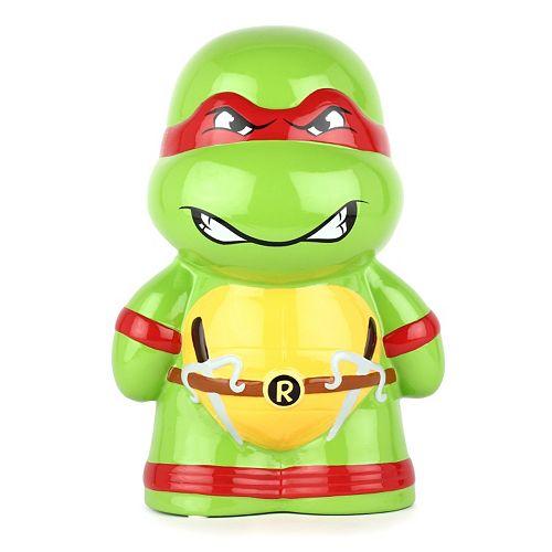 Teenage Mutant Ninja Turtles Raphael Ceramic Piggy Bank
