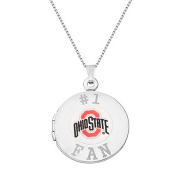 Sterling Silver Ohio State Buckeyes