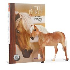 Breyer Little Prince Horse Figurine & Book Set