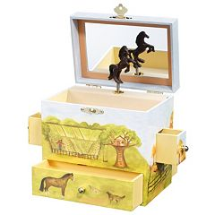 Breyer Enchantmints Horse Ranch Music & Treasure Box