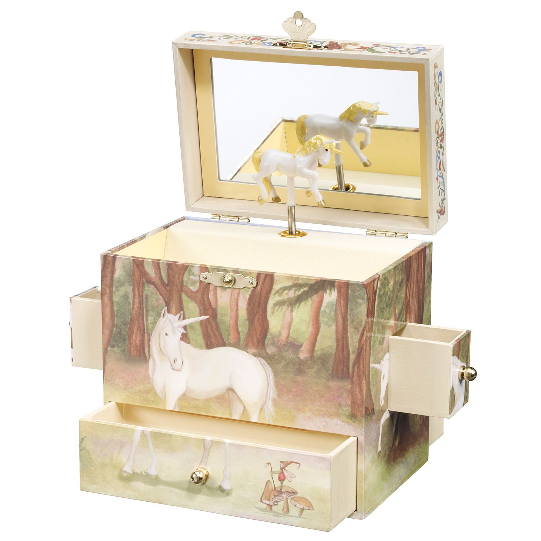 Breyer Enchantmints Unicorn Music Treasure Box
