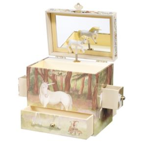 Breyer Enchantmints Unicorn Music and Treasure Box