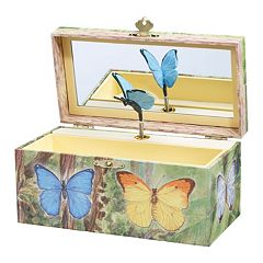 Breyer Enchantmints Butterfly Music & Treasure Box