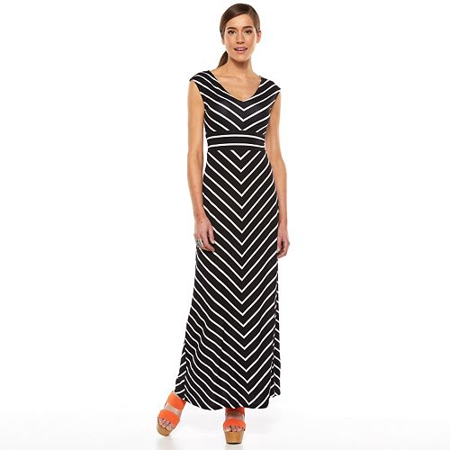 Apt 9 174 Empire Maxi Dress Women S