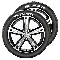 Arkansas Razorbacks Tire Tatz