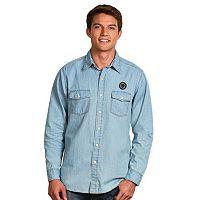 Men's Antigua Philadelphia Union Chambray Button-Down Shirt