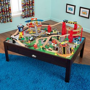 KidKraft® Ride Around Town Train Table and Set