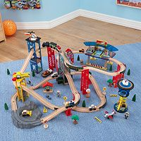 KidKraft 80-pc. Super Highway Train Set