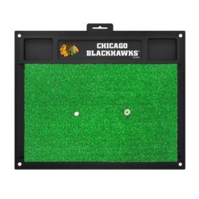 FANMATS Chicago Blackhawks Golf Hitting Mat