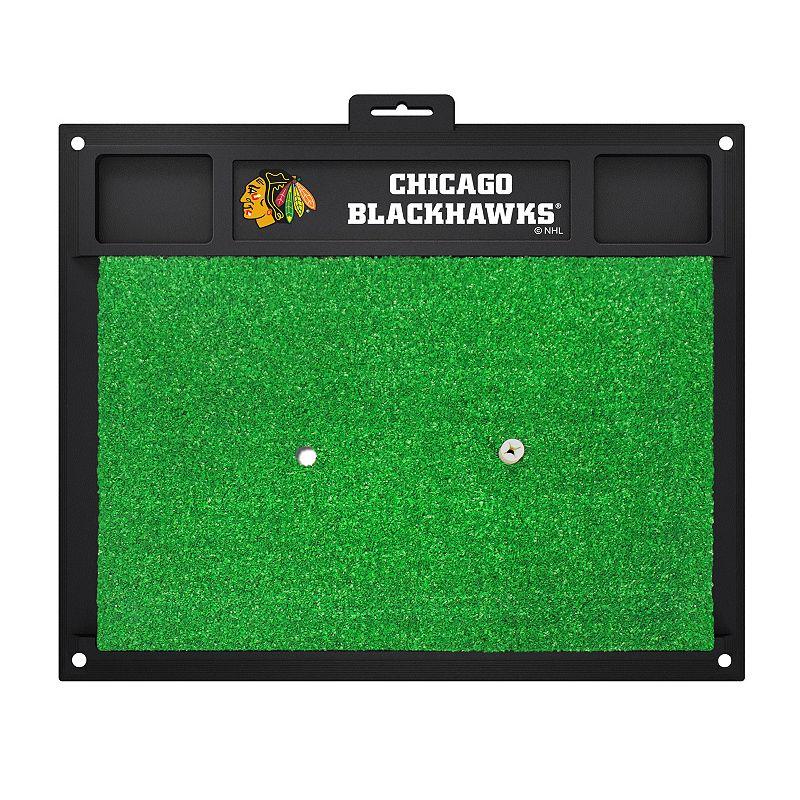 Fanmats Chicago Blackhawks Golf Hitting Mat (Green)