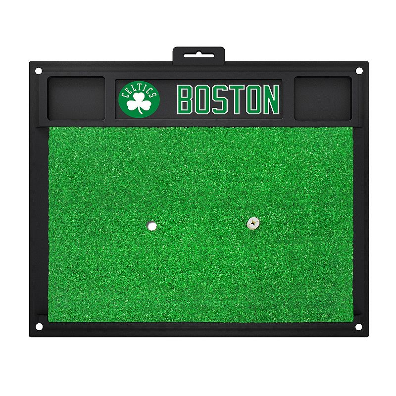 Fanmats Boston Celtics Golf Hitting Mat (Green)