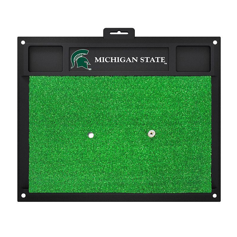 Fanmats Michigan State Spartans Golf Hitting Mat (Green)