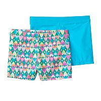 Girls Maidenform 2-pk. Playground Pals Bike Shorts