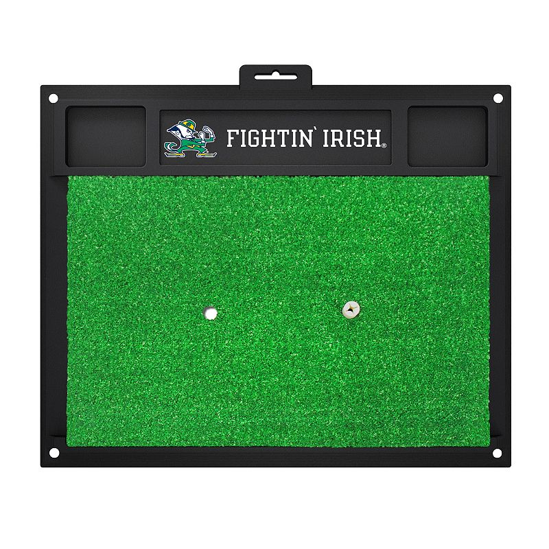 Fanmats NCAA Notre Dame Fighting Irish Golf Hitting Mats