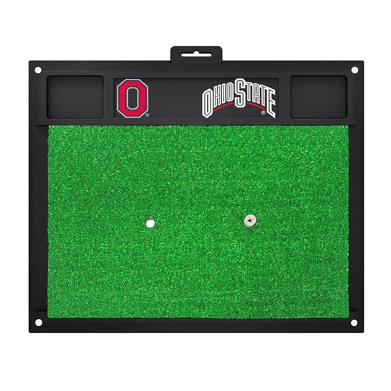 Fanmats Ohio State Buckeyes Golf Hitting Mat (Green)