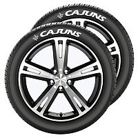 Louisiana Lafayette Ragin' Cajuns Tire Tatz