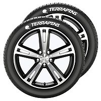 Maryland Terrapins Tire Tatz