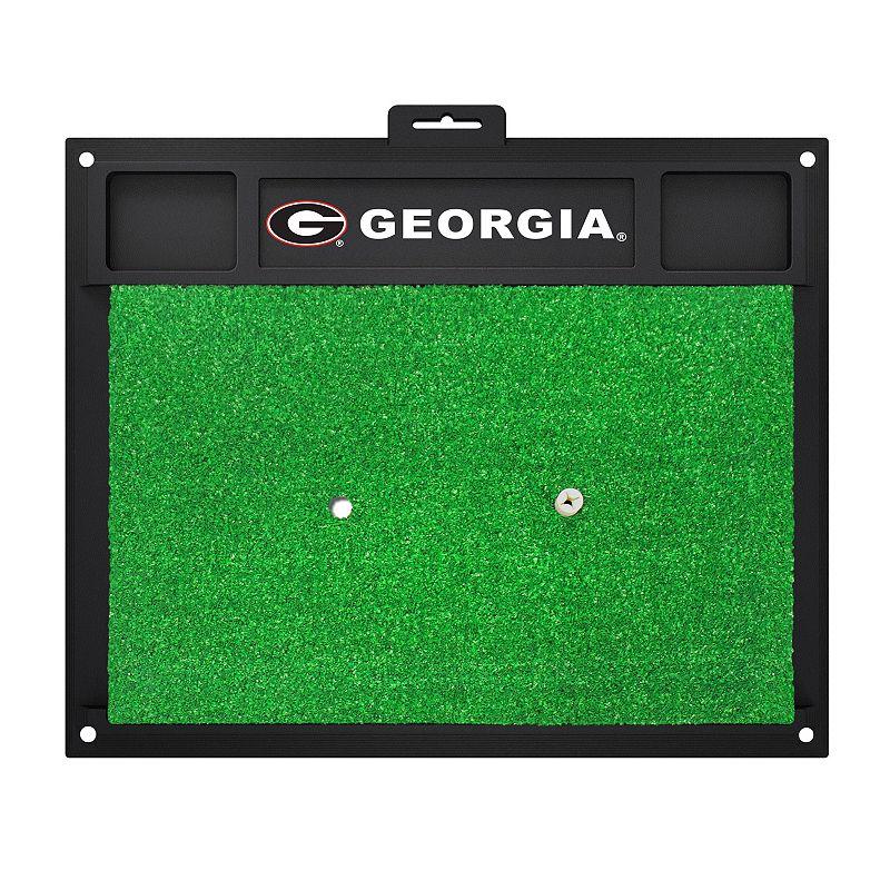 Fanmats Georgia Bulldogs Golf Hitting Mat (Green)