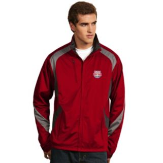 Men's Antigua New York Red Bulls Tempest Desert Dry Xtra-Lite Performance Jacket