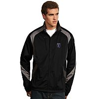 Men's Antigua San Jose Earthquakes Tempest Desert Dry Xtra-Lite Performance Jacket