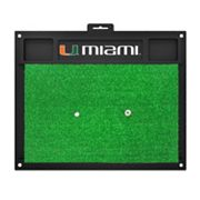 FANMATS Miami Hurricanes Golf Hitting Mat