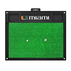 FANMATS Miami Hurricanes Golf Hitting Mat