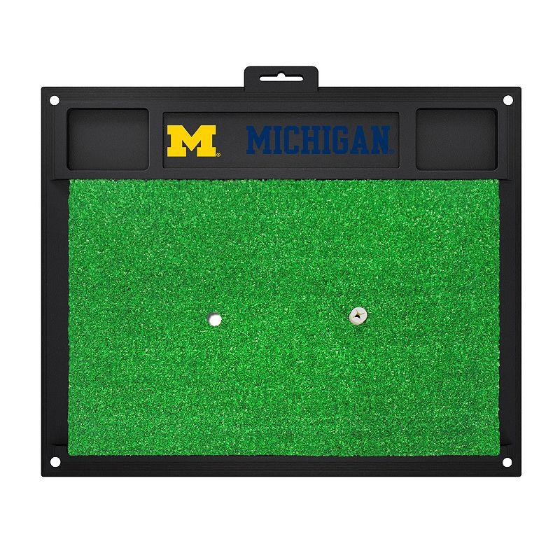 Fanmats Michigan Wolverines Golf Hitting Mat (Green)