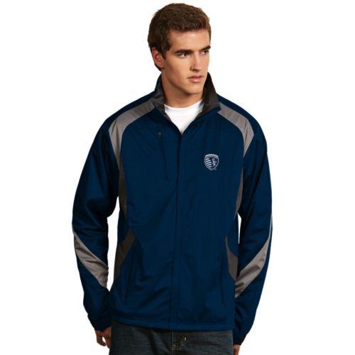 Men's Antigua Sporting Kansas City Tempest Desert Dry Xtra-Lite Performance Jacket