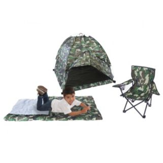 Pacific Play Tents Camouflage Tent Set